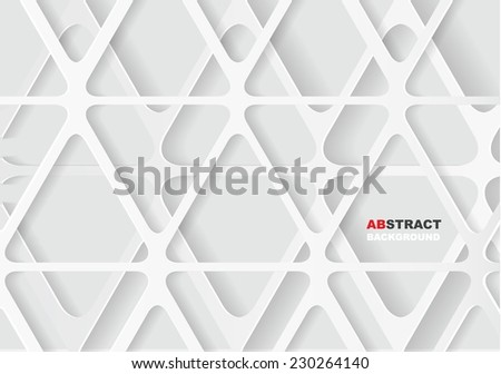 Abstract Paper Graphics - stock vector