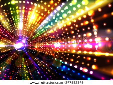 Abstract Party Background. - stock vector