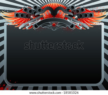 Abstract party design. Vector illustration. - stock vector