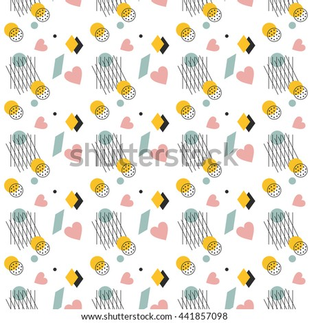 abstract pattern. Classic background. Vector illustration - stock vector