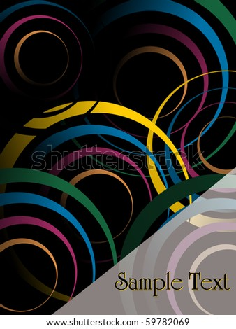 abstract pattern colorful background, vector illustration