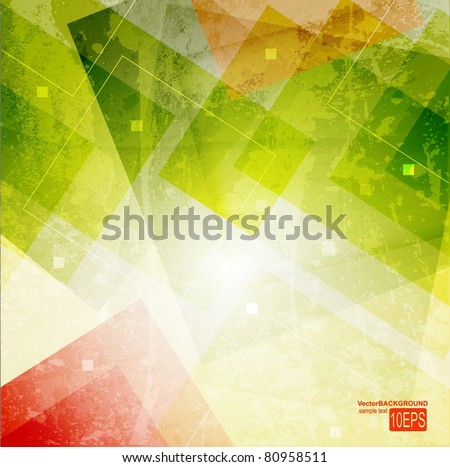 Abstract pattern for design. - stock vector