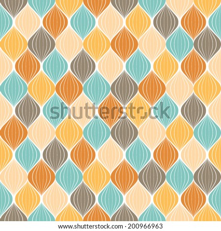 Abstract pattern.Seamless geometric wallpaper background.Vector illustration.Vintage color texture.