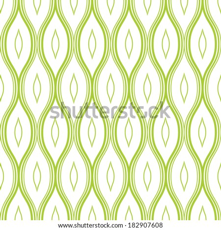Abstract pattern. Vector background. Repeating wavy texture - stock vector