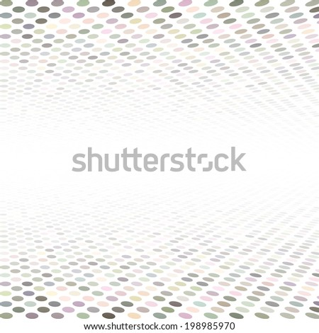 Abstract perspective background. - stock vector