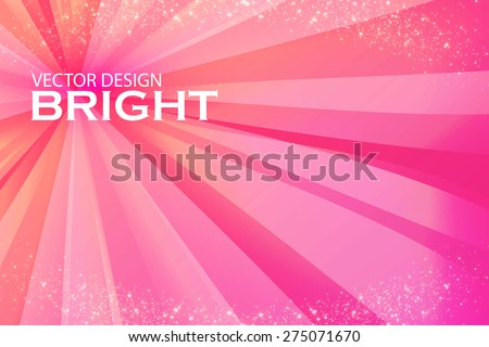Abstract pink background. Vector illustration - stock vector