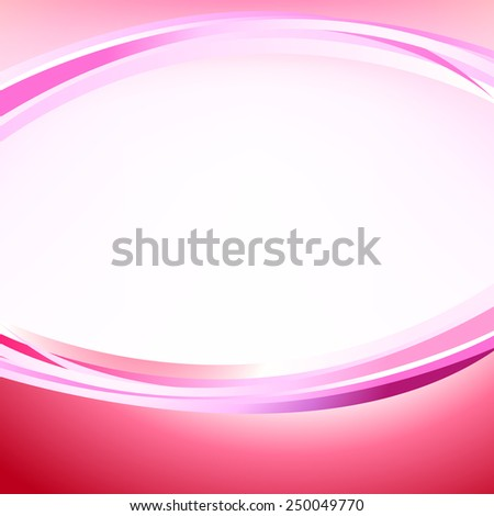 abstract pink background with curve line pattern vector