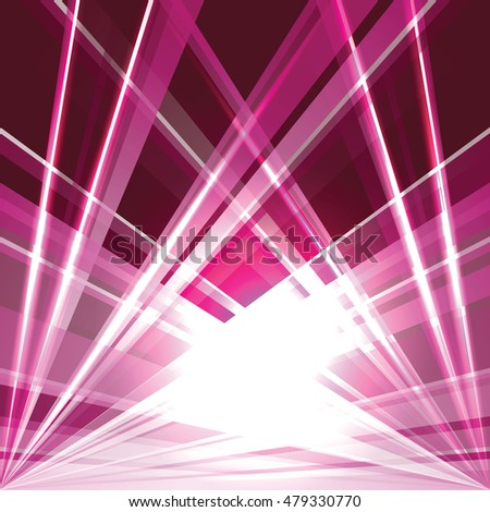 Abstract Pink Shiny Background with Sparkling Lights.