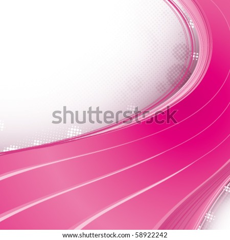 Abstract pink strips - stock vector