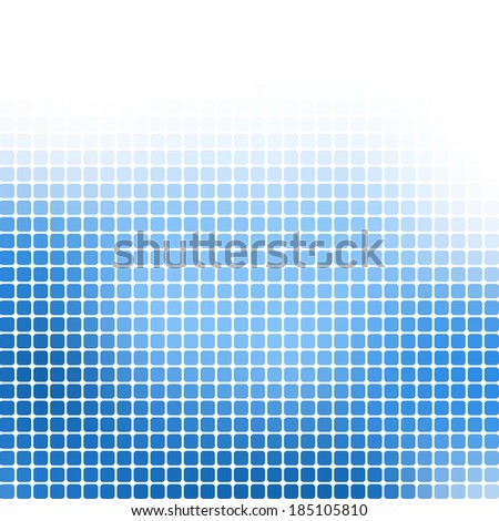 Abstract pixel mosaic gradient colorful background - stock vector