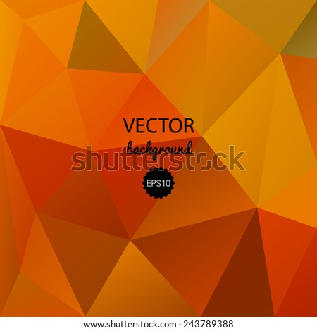 Abstract poligonal vector background. Vector polygonal pattern. Contemporary abstract geometry background. Color banner. Spectrum digital backdrop. Modern and trendy design. Creative crumpled polygon. - stock vector