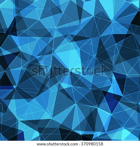 Abstract Polygonal Background, Geometric Illustration. Vector EPS10