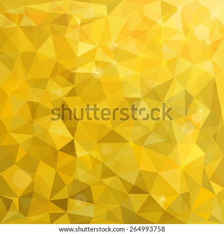 Abstract Polygonal Background. Modern Geometric Vector Illustration. - stock vector