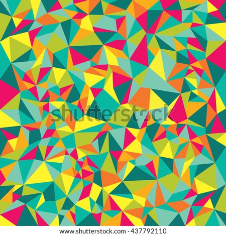 Abstract polygonal low poly banners. Geometric backdrop. Polygonal crystal texture. Triangular texture. - stock vector