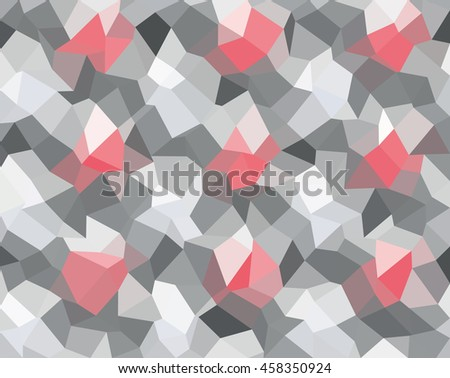 Abstract polygonal triangle background, template. - Stock vector