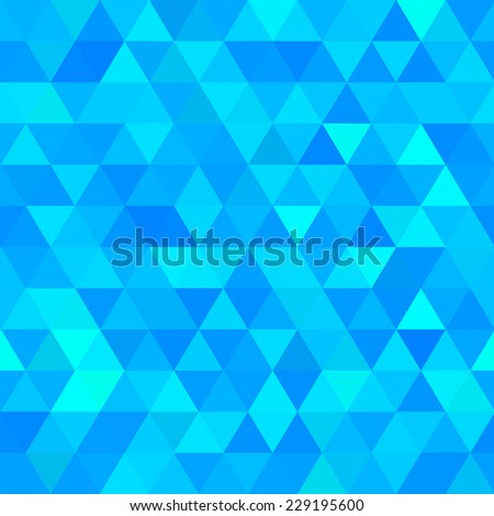 Abstract polygonal vector seamless background
