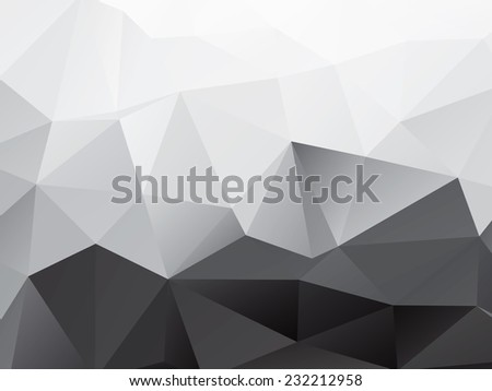 Abstract Polygons Shape Vector Background | EPS10 Design - stock vector