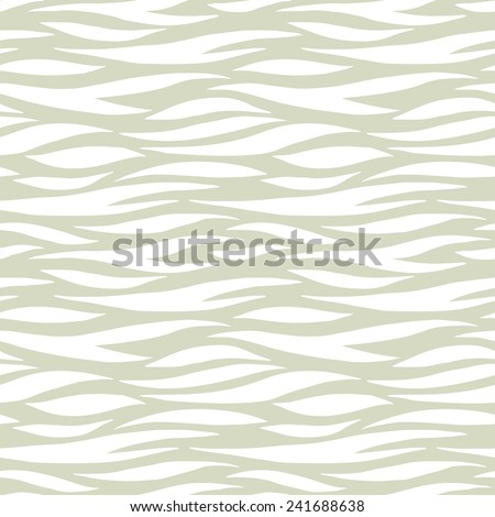 Abstract print animal seamless pattern. Zebra, tiger stripes. Striped repeating background texture. Cloth design. Wallpaper  - stock vector