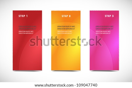 Abstract professional and designer cards. Variety of uses - stock vector