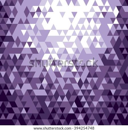 Abstract Purple Background. Geometric Illustration. - stock vector