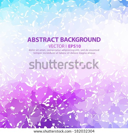 Abstract purple background. Vector EPS 10 illustration. - stock vector