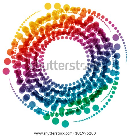 abstract radial background - stock vector