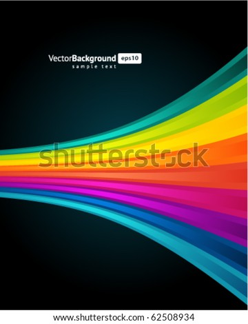 Abstract rainbow background. Eps 10 - stock vector