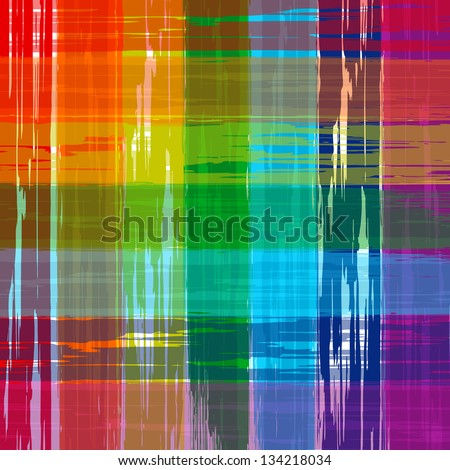 Abstract rainbow colorful vector background paint - stock vector