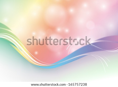 abstract rainbow colors vector background. Eps10 colorful design - stock vector