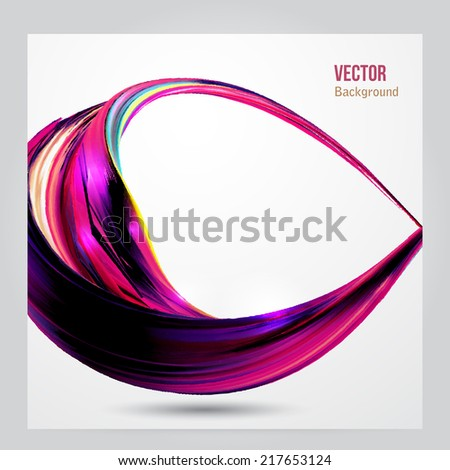 Abstract red background futuristic wavy vector illustration eps10. Business wave corporate background, flyer, brochure design template - stock vector
