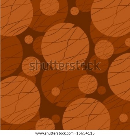 Abstract retro  background design in chocolate color.JPG vers. in my port - stock vector