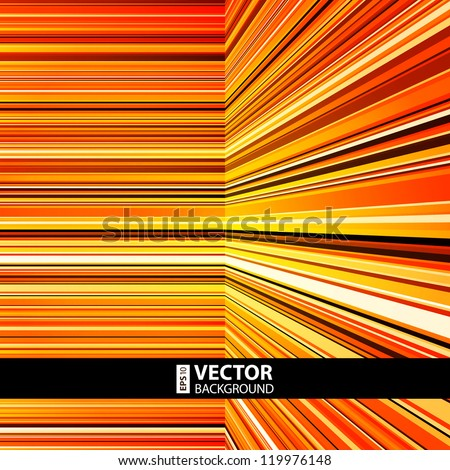 Abstract retro striped colorful background - stock vector