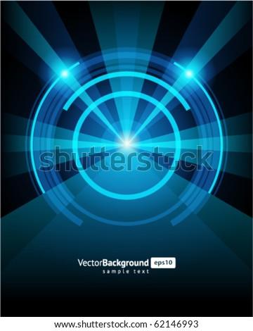 Abstract retro vector background. Eps 10 - stock vector
