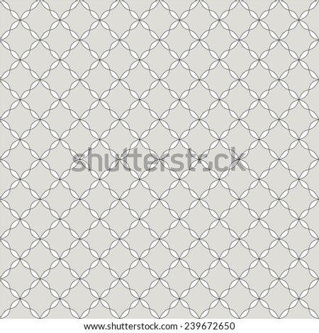 Abstract retro vintage seamless pattern in black and white. Ornamental pattern. Repeating geometric tiles - stock vector