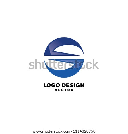 abstract round s logo template stock vector 1114820750 shutterstock