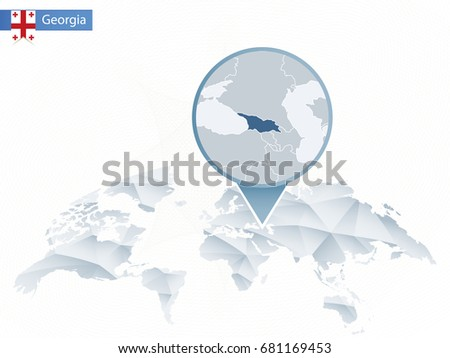 Georgia Map Stock Images RoyaltyFree Images Vectors Shutterstock - Georgia map world