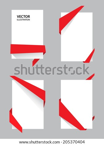 Abstract sale tag. Price tag flat style. Vector illustration - stock vector