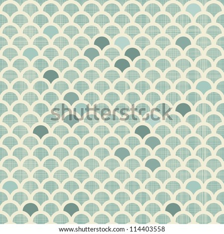 abstract scales seamless background - stock vector