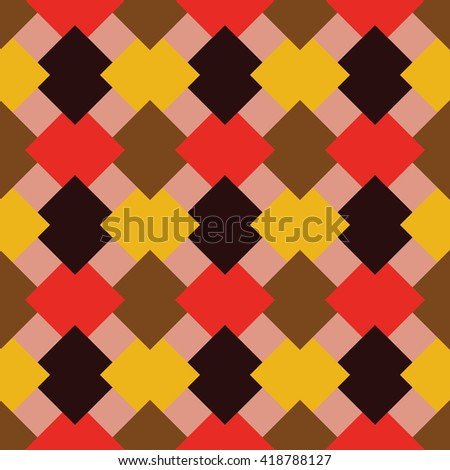 abstract seamless background and wallpaper of rhombuses , and squares