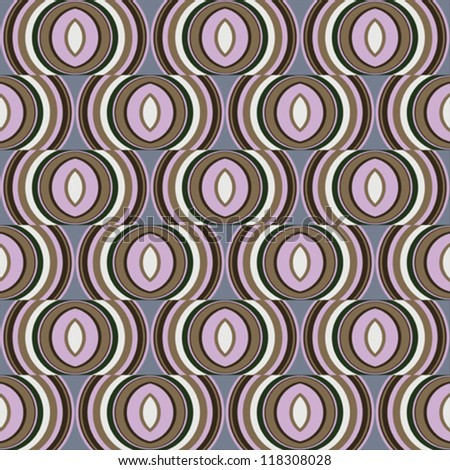 Abstract seamless background pattern. Vector illustration. - stock vector
