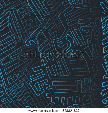 abstract seamless braided background