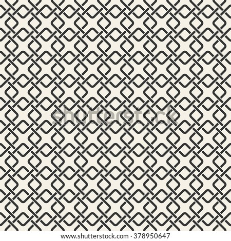 Abstract seamless chain print pattern
