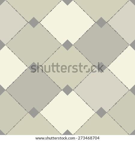abstract seamless check - stock vector
