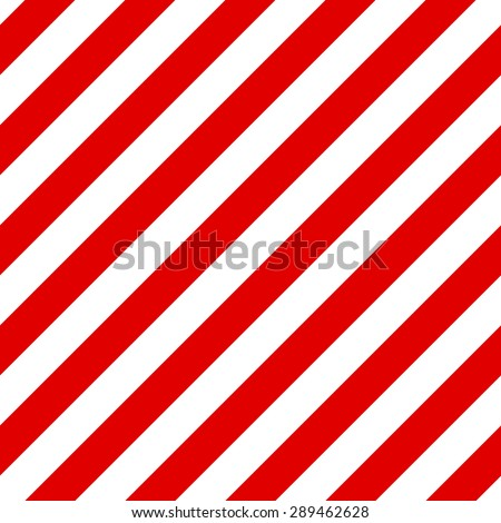 Abstract Seamless geometric diagonal striped pattern with red and white stripes. Vector illustration - stock vector