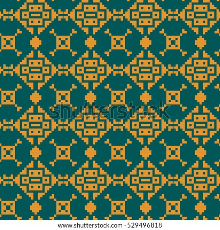 Abstract seamless geometric pattern. Vector illustration.