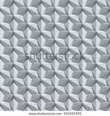 Abstract seamless geometric pattern with interlaced grids.optical three dimension.vector - stock vector