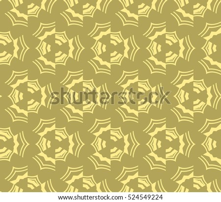 abstract seamless geometries pattern. Vector illustration. Yellow color. for wallpaper. design page fill