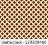 abstract seamless golden grating pattern - stock vector