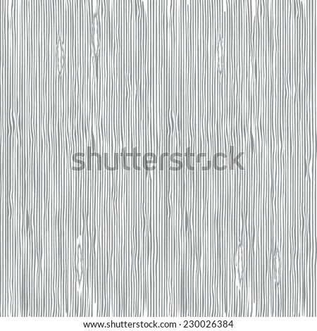 Abstract seamless gray stripes, stylized wood texture. Vector illustration. - stock vector