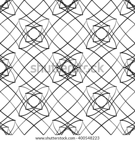 Abstract seamless grid texture background vector illustration